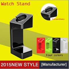 2015 latest plastic display stand for apple watch