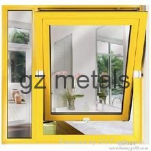 modern house design aluminum profile awning window