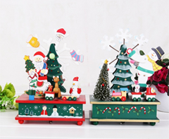 wooden Christmas gift  festival items