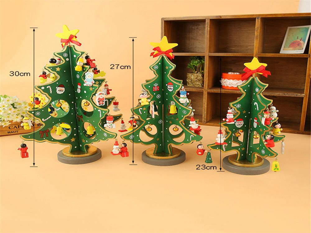 Wooden christmas decorations gift crafts mt