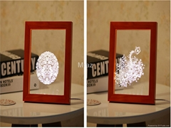 Wooden 3D Frame Lamp  (Hot Product - 1*)