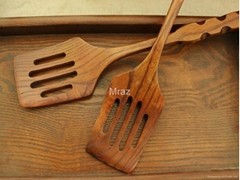Factory Wooden Nature Kitchenware Pancake Turner