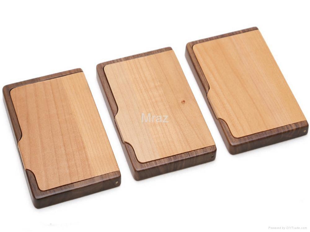 Wooden Business Card Case - MT-NC001 - Mraz (China Manufacturer ...