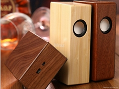 Creative Mini Bamboo&Wooden Speaker