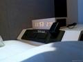 Natural Wooden LED Screen Alarm Bluetooth Speaker  15