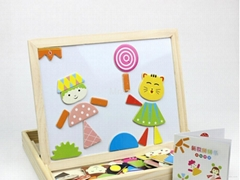 Wooden Magnetic Kids Jigsaw Puzzle