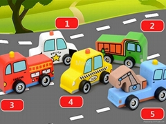 Wooden Mini Traffic Car Education Toys