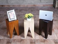 Retro Style Wooden Tea Table