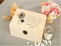 Retro Style Wooden Jewelry Box with Dandelion 3