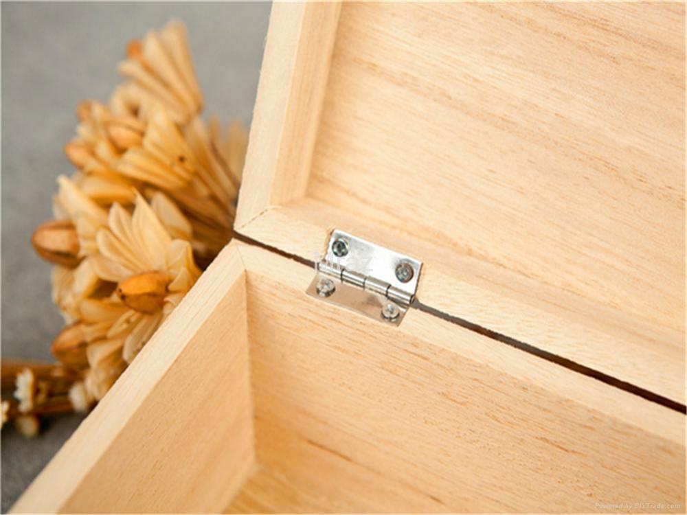 Retro Style Wooden Jewelry Box with Dandelion 7