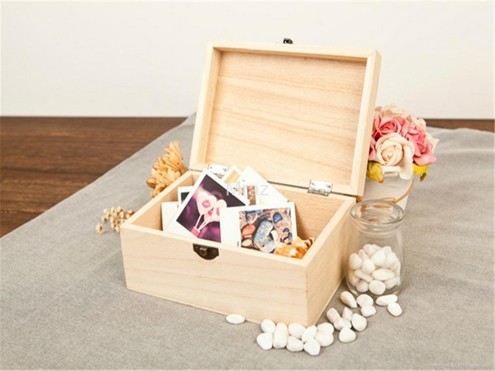 Retro Style Wooden Jewelry Box with Dandelion 1
