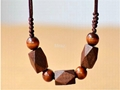 Fashion Rosewood Pendant Necklace jewelry 1