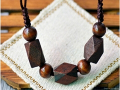 Fashion Rosewood Pendant Necklace jewelry