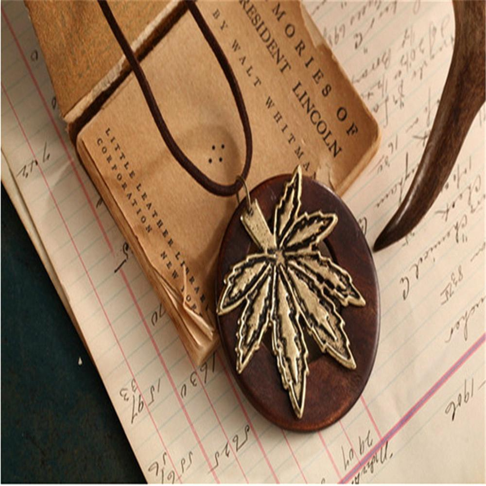 Fashion Rosewood Pendant Necklace jewelry 6