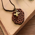 Fashion Rosewood Pendant Necklace jewelry 9