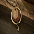 Fashion Rosewood Pendant Necklace jewelry 17