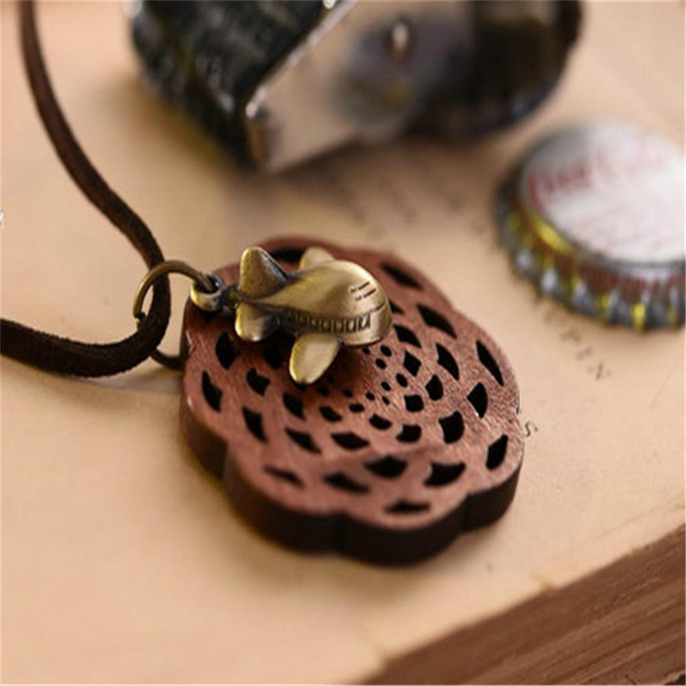 Fashion Rosewood Pendant Necklace jewelry 19