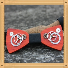 Factory wholesale  Fashion wooden bow ties