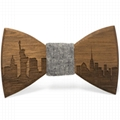 2019 Promotional Items Handmade wooden bow tie for man's suit 4