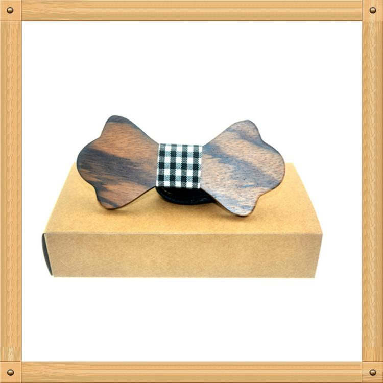 2019 Promotional Items Handmade wooden bow tie for man's suit 9