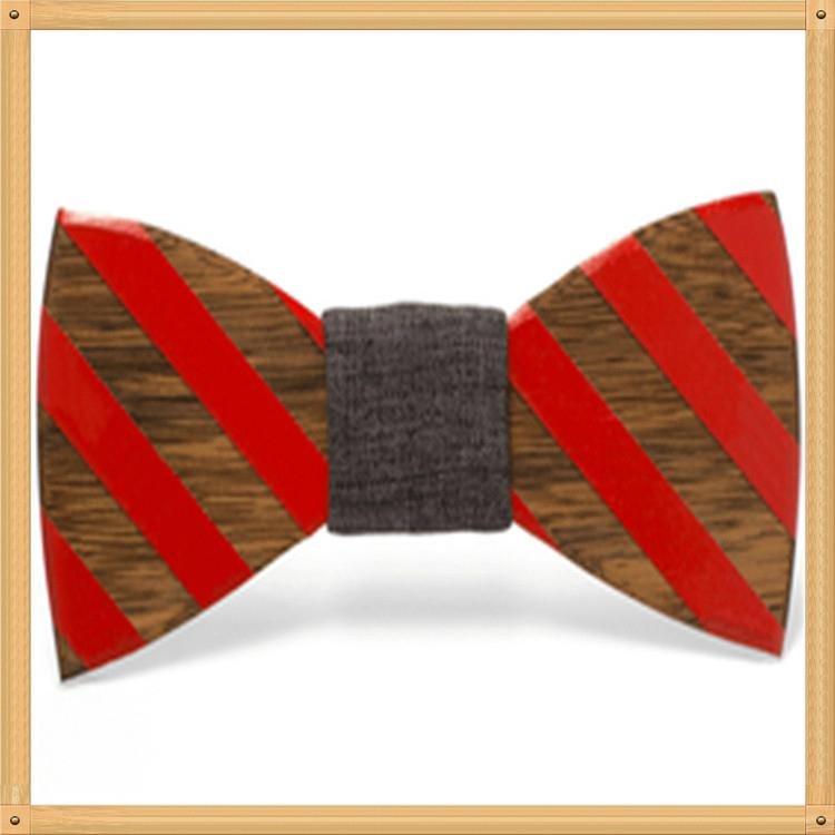 2019 Promotional Items Handmade wooden bow tie for man's suit 10