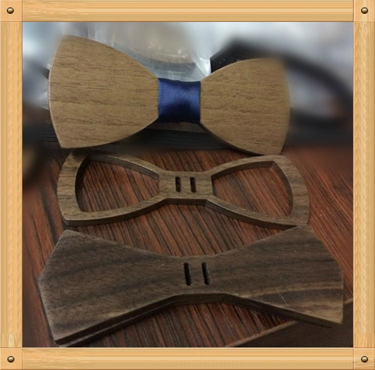 2019 Promotional Items Handmade wooden bow tie for man's suit 13