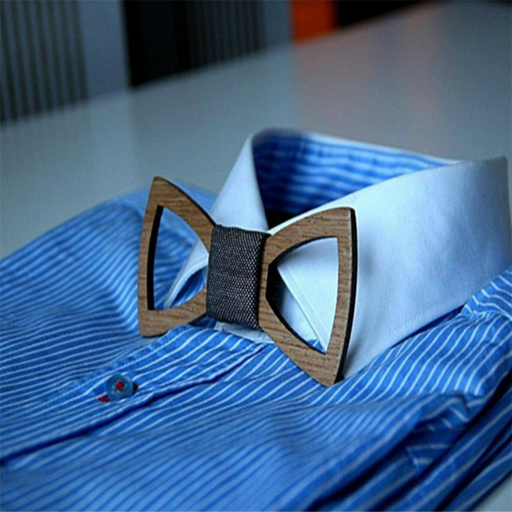 2019 Promotional Items Handmade wooden bow tie for man's suit 14
