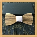 2019 Promotional Items Handmade wooden bow tie for man's suit 15