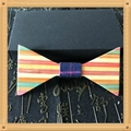 2019 Promotional Items Handmade wooden bow tie for man's suit 19