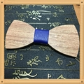 New Design fashion customized wooden bow tie for wedding  10