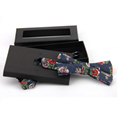 MBT217 New Design fashion 3D customized redwood wooden bow tie for wedding  19