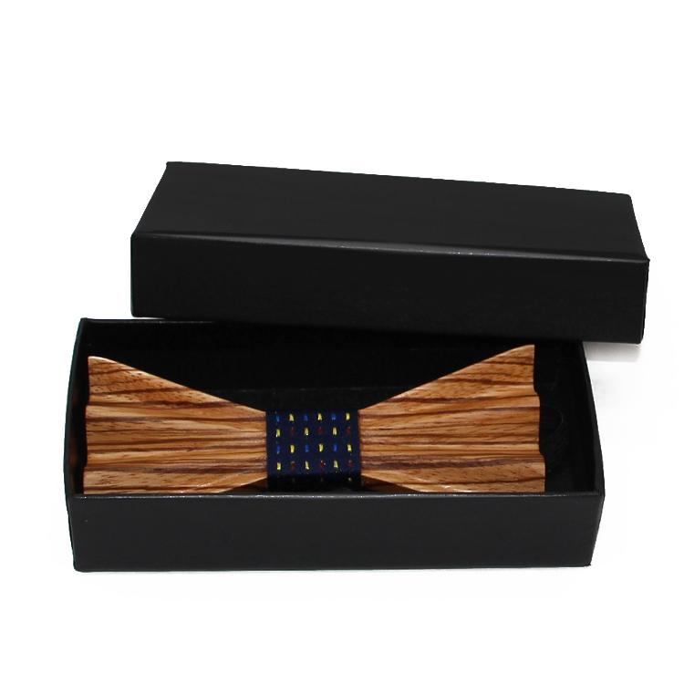 MBT4001 New Design fashion 4D customized wooden bow tie for man 5