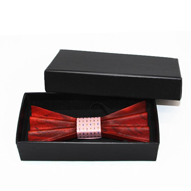 MBT4002 New Design fashion 4D customized wooden bow tie for man 1