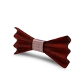 MBT4002 New Design fashion 4D customized wooden bow tie for man 5