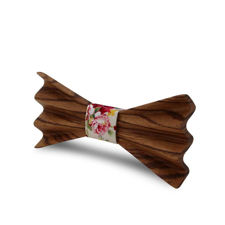 MBT4002 New Design fashion 4D customized wooden bow tie for man 6