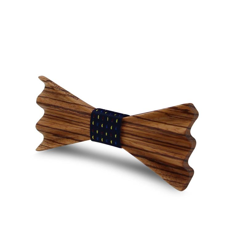 MBT4002 New Design fashion 4D customized wooden bow tie for man 7