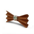 MBT4002 New Design fashion 4D customized wooden bow tie for man