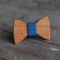 MBT5001 New Design fashion magnetic customized wooden bow tie for man's suit 4