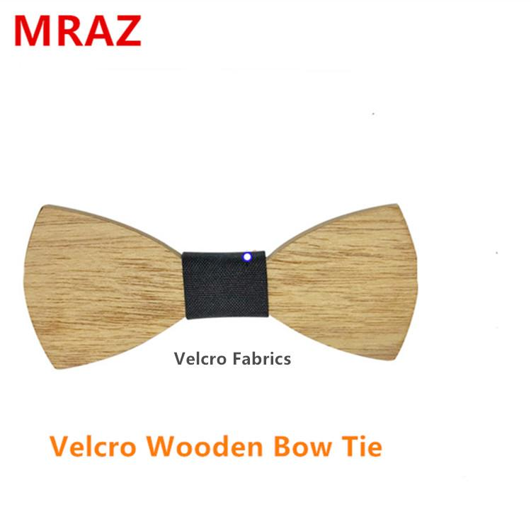 MBT5002 New Design fashion changeable customized wooden bow tie for man's suit 2