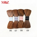 Discount fashion changeable customized wooden bow tie for man's suit 3