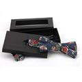 Fashion black cheap handmade Bow tie package box gift box  6