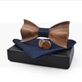 Fashion black cheap handmade Bow tie package box gift box  7