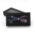 Fashion black cheap handmade Bow tie package box gift box  8