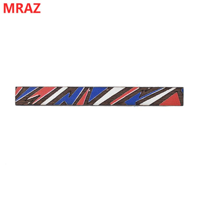 Fashion colorful handmade wooden metal tie clips for men 4