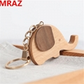 New Designs wooden elephant keychain , wooden elephant toys for zoo 2