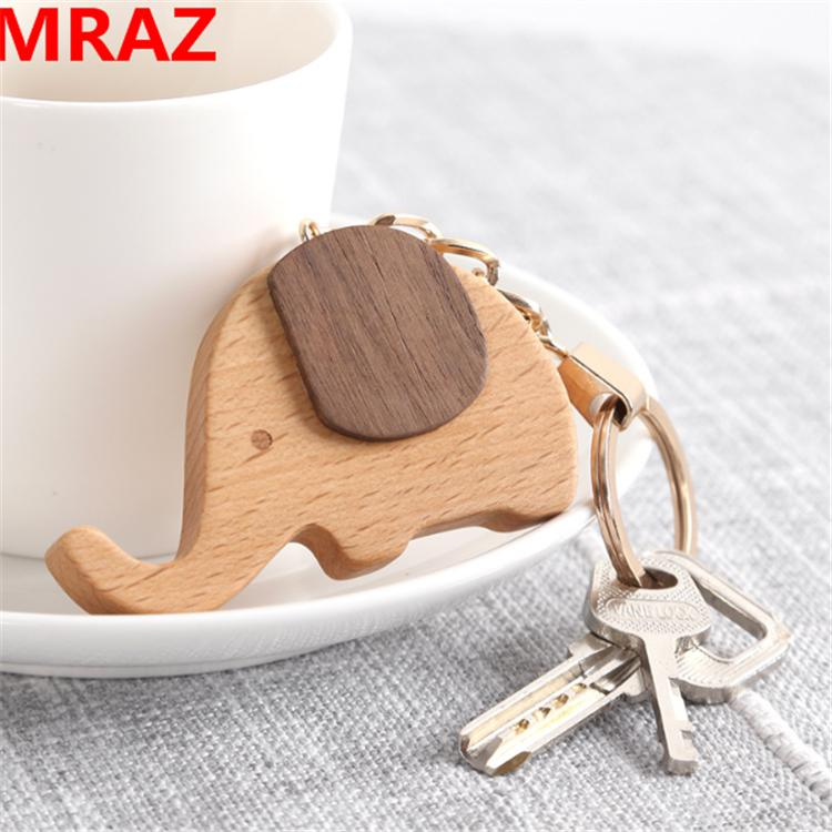 New Designs wooden elephant keychain , wooden elephant toys for zoo 3