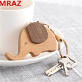 New Designs wooden elephant keychain , wooden elephant toys for zoo