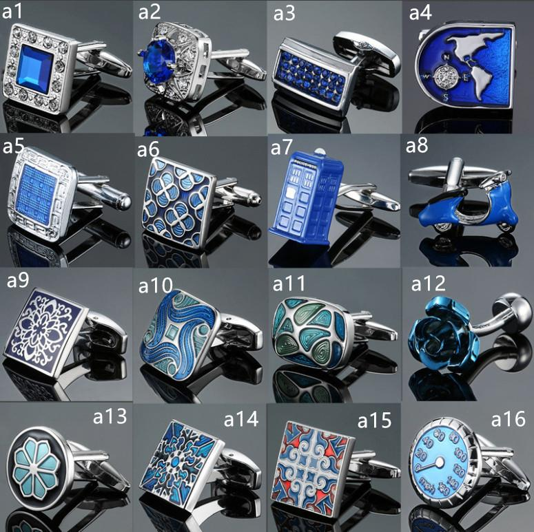 Hot Sell Custom fashion metal cufflinks for business man