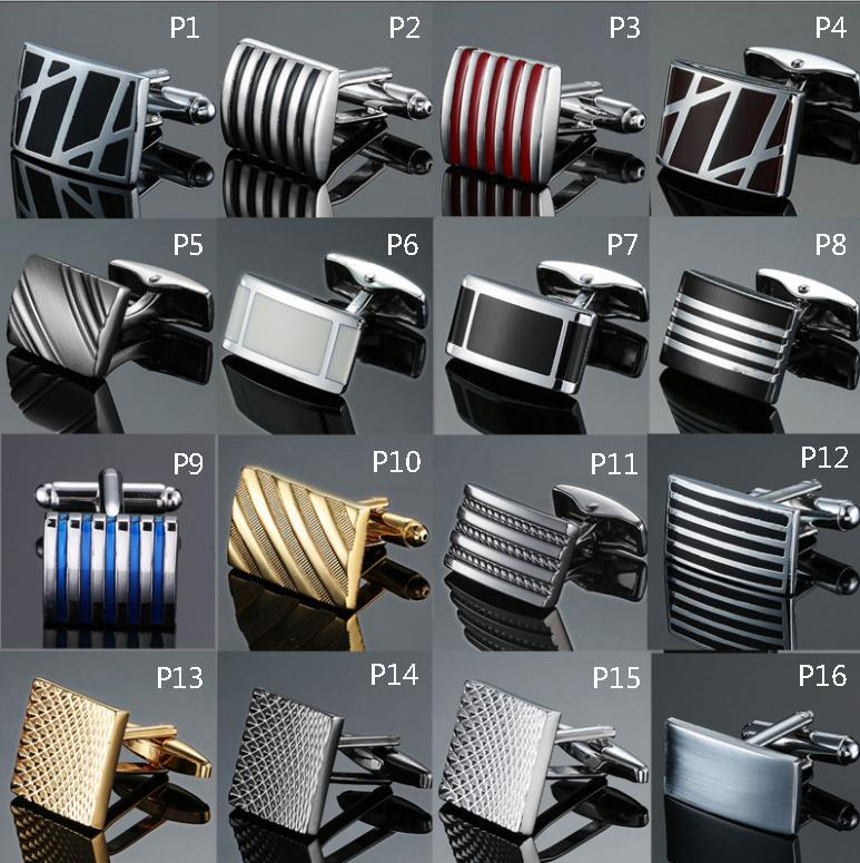 Hot Sell Custom fashion french metal cufflinks for Promotion