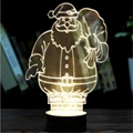 Creative Christmas decoration Wooden 3D
